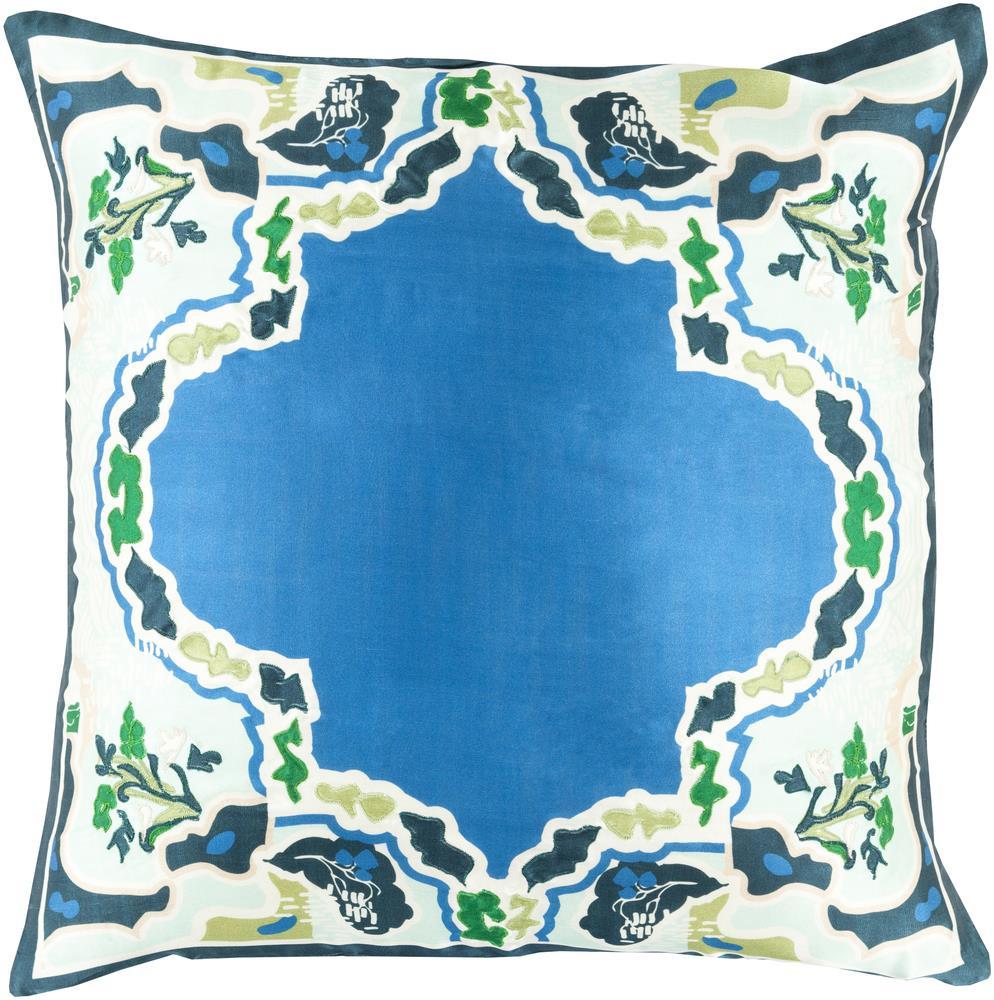 """Surya Pillows 22"""" x 22"""" Decorative Pillow - Item Number: GE001-2222P"""