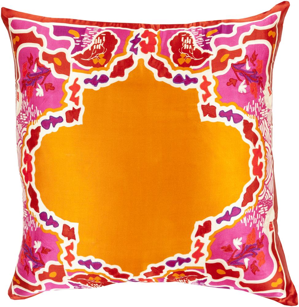 "Surya Pillows 18"" x 18"" Decorative Pillow - Item Number: GE002-1818P"