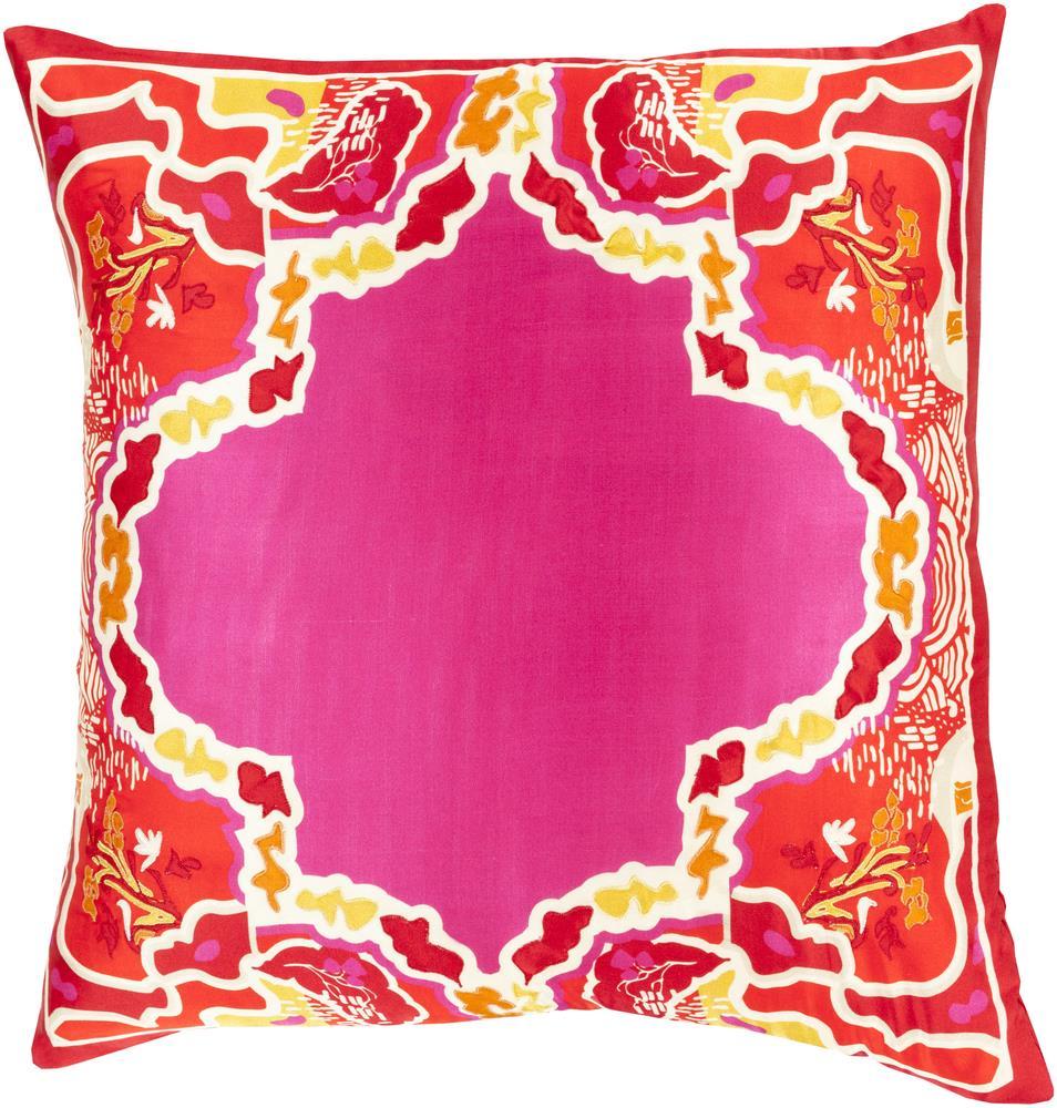 """Surya Pillows 18"""" x 18"""" Decorative Pillow - Item Number: GE003-1818P"""