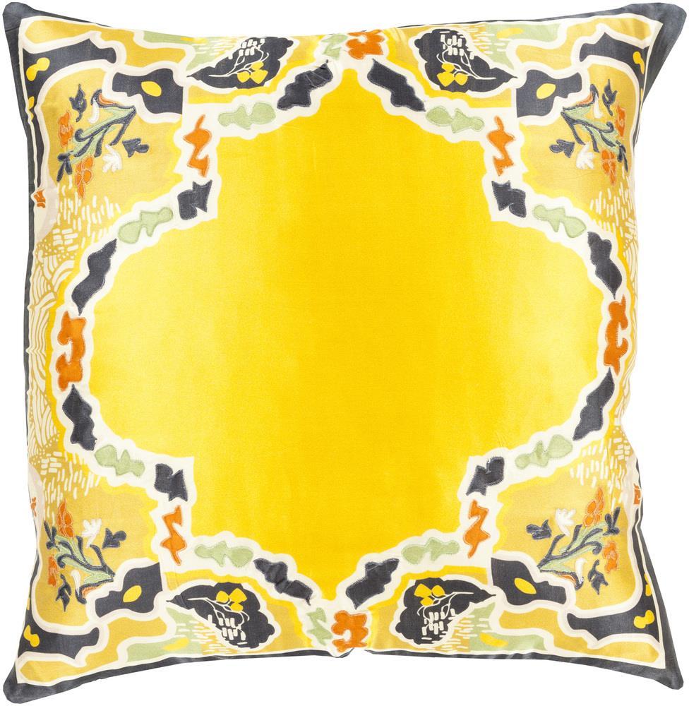 """Surya Rugs Pillows 22"""" x 22"""" Decorative Pillow - Item Number: GE004-2222P"""