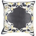 "Surya Pillows 18"" x 18"" Decorative Pillow - Item Number: GE005-1818P"