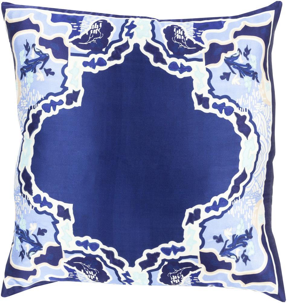 """Surya Pillows 22"""" x 22"""" Decorative Pillow - Item Number: GE007-2222P"""