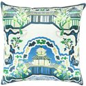 "Surya Rugs Pillows 18"" x 18"" Decorative Pillow - Item Number: GE008-1818P"