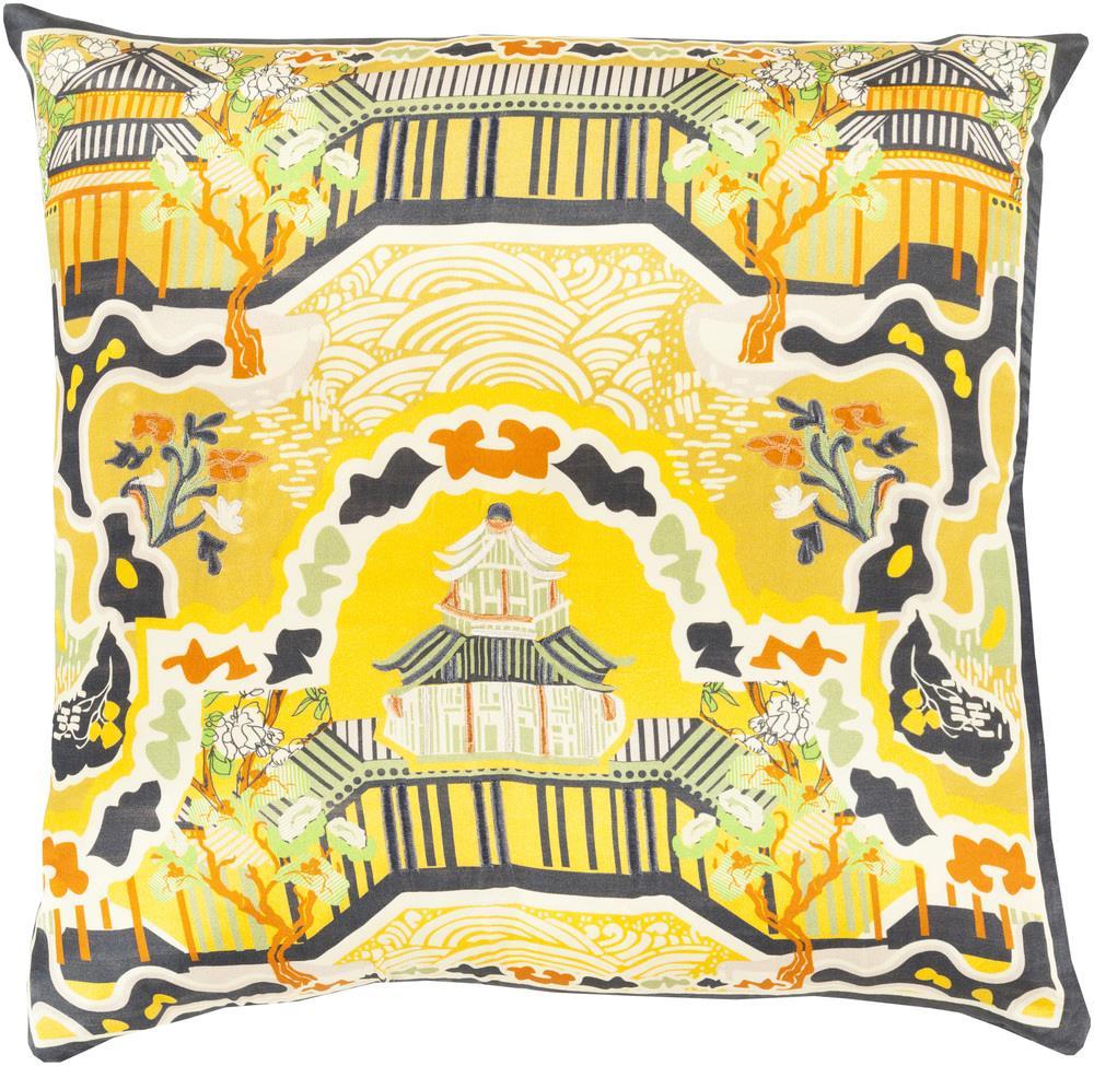"""Surya Pillows 20"""" x 20"""" Decorative Pillow - Item Number: GE010-2020P"""