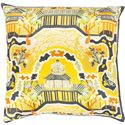 "Surya Pillows 22"" x 22"" Decorative Pillow - Item Number: GE010-2222P"