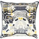 "Surya Pillows 22"" x 22"" Decorative Pillow - Item Number: GE011-2222P"
