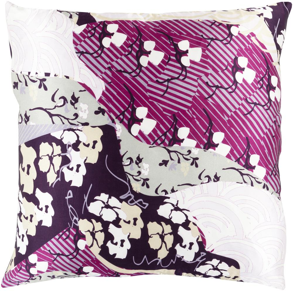 "Surya Rugs Pillows 18"" x 18"" Decorative Pillow - Item Number: GE015-1818P"