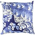 "Surya Pillows 18"" x 18"" Decorative Pillow - Item Number: GE016-1818P"