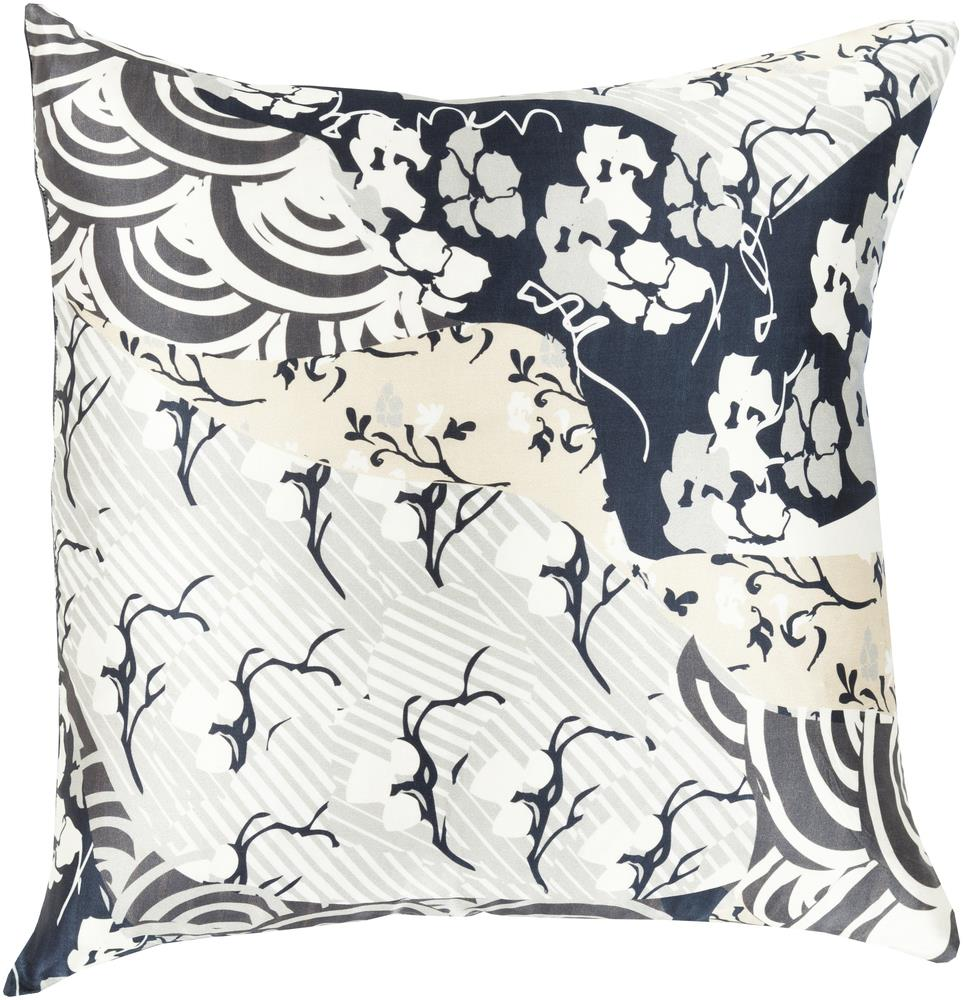 "Surya Pillows 18"" x 18"" Decorative Pillow - Item Number: GE017-1818P"