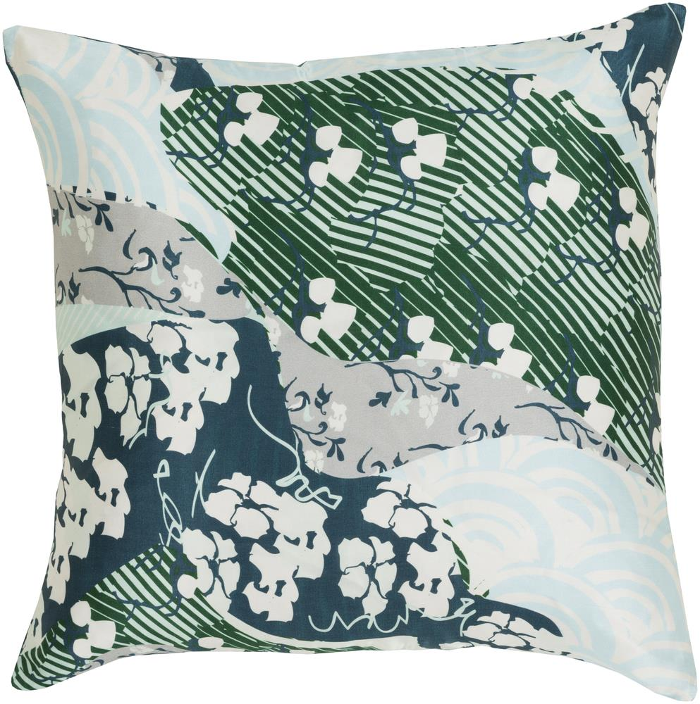 """Surya Rugs Pillows 20"""" x 20"""" Decorative Pillow - Item Number: GE018-2020P"""