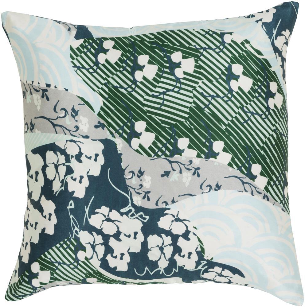 """Surya Rugs Pillows 22"""" x 22"""" Decorative Pillow - Item Number: GE018-2222P"""