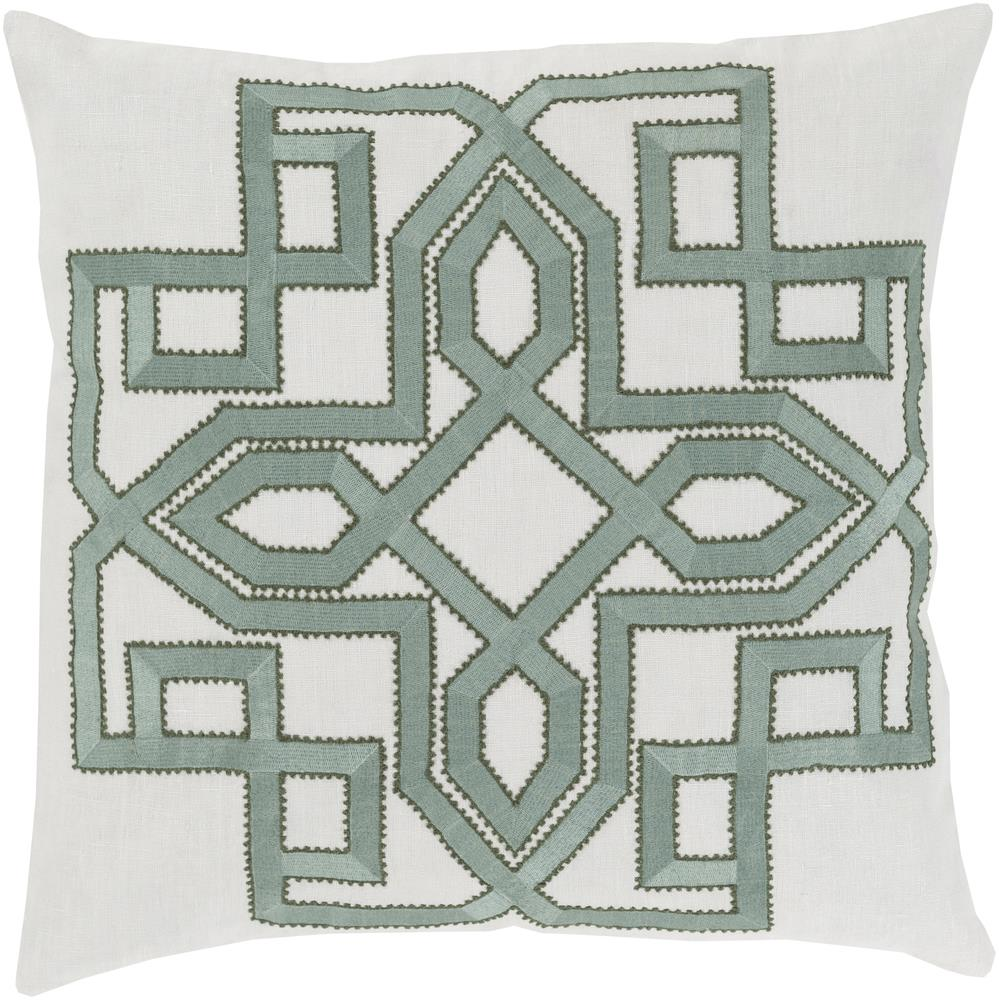"Surya Pillows 18"" x 18"" Gatsby Pillow - Item Number: GLD001-1818P"