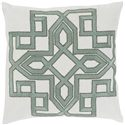 "Surya Pillows 22"" x 22"" Gatsby Pillow - Item Number: GLD001-2222P"