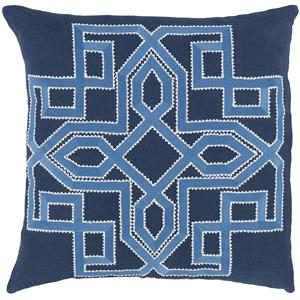"Surya Rugs Pillows 18"" x 18"" Gatsby Pillow"