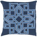 "Surya Rugs Pillows 18"" x 18"" Gatsby Pillow - Item Number: GLD002-1818P"