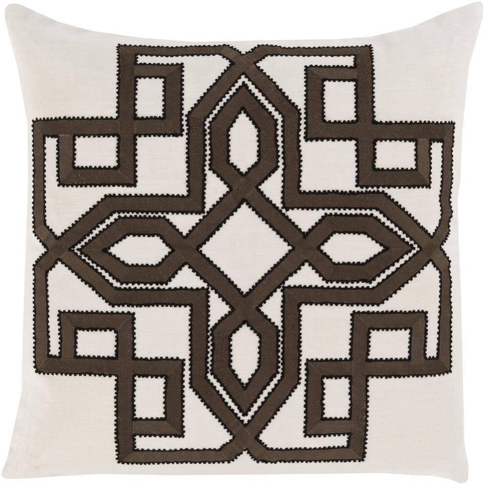 "Surya Pillows 20"" x 20"" Gatsby Pillow - Item Number: GLD004-2020P"