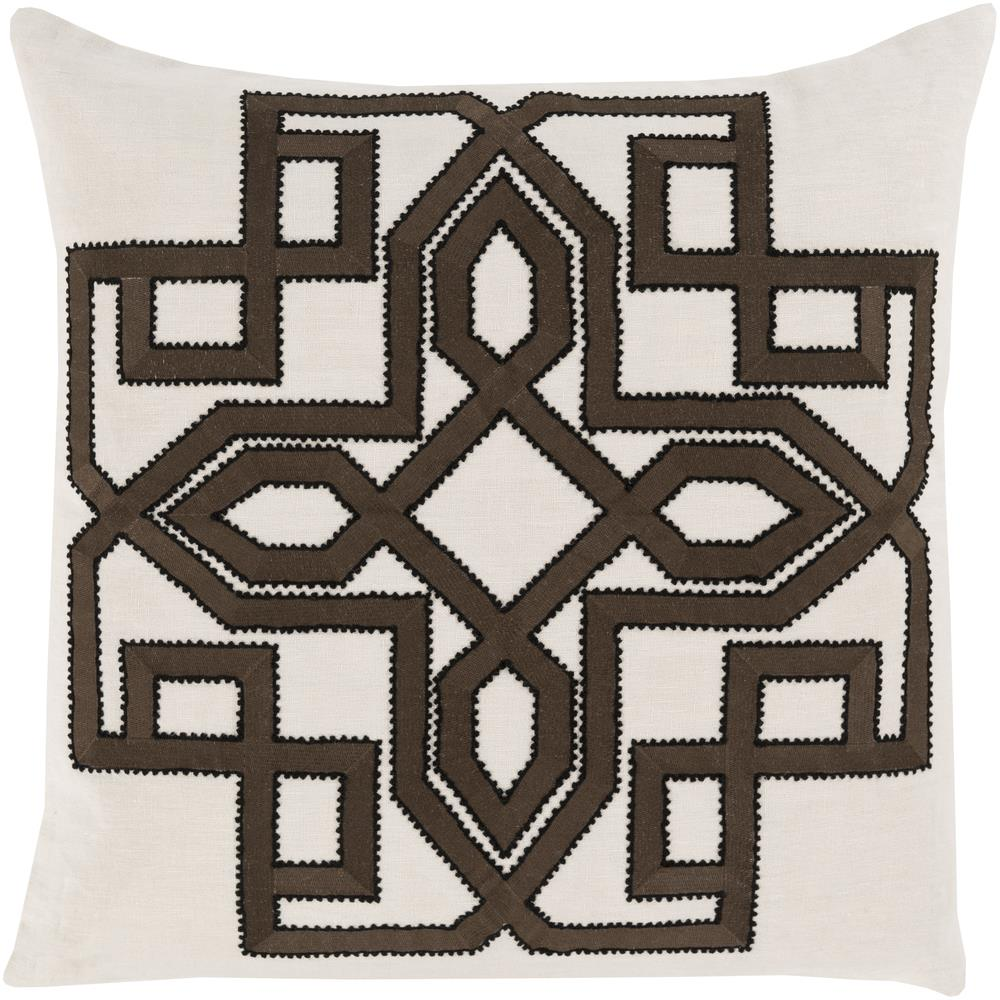 "Surya Rugs Pillows 22"" x 22"" Gatsby Pillow - Item Number: GLD004-2222P"