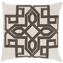 "Surya Pillows 18"" x 18"" Gatsby Pillow - Item Number: GLD005-1818P"