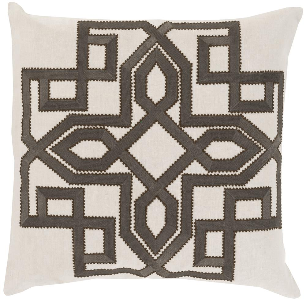 "Surya Pillows 20"" x 20"" Gatsby Pillow - Item Number: GLD005-2020P"