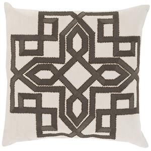 "Surya Rugs Pillows 22"" x 22"" Gatsby Pillow"