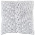 "Surya Pillows 18"" x 18"" Decorative Pillow - Item Number: GN001-1818P"