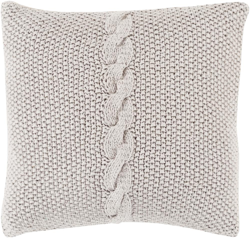 "Surya Pillows 18"" x 18"" Decorative Pillow - Item Number: GN002-1818P"