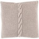 "Surya Rugs Pillows 22"" x 22"" Decorative Pillow - Item Number: GN005-2222P"