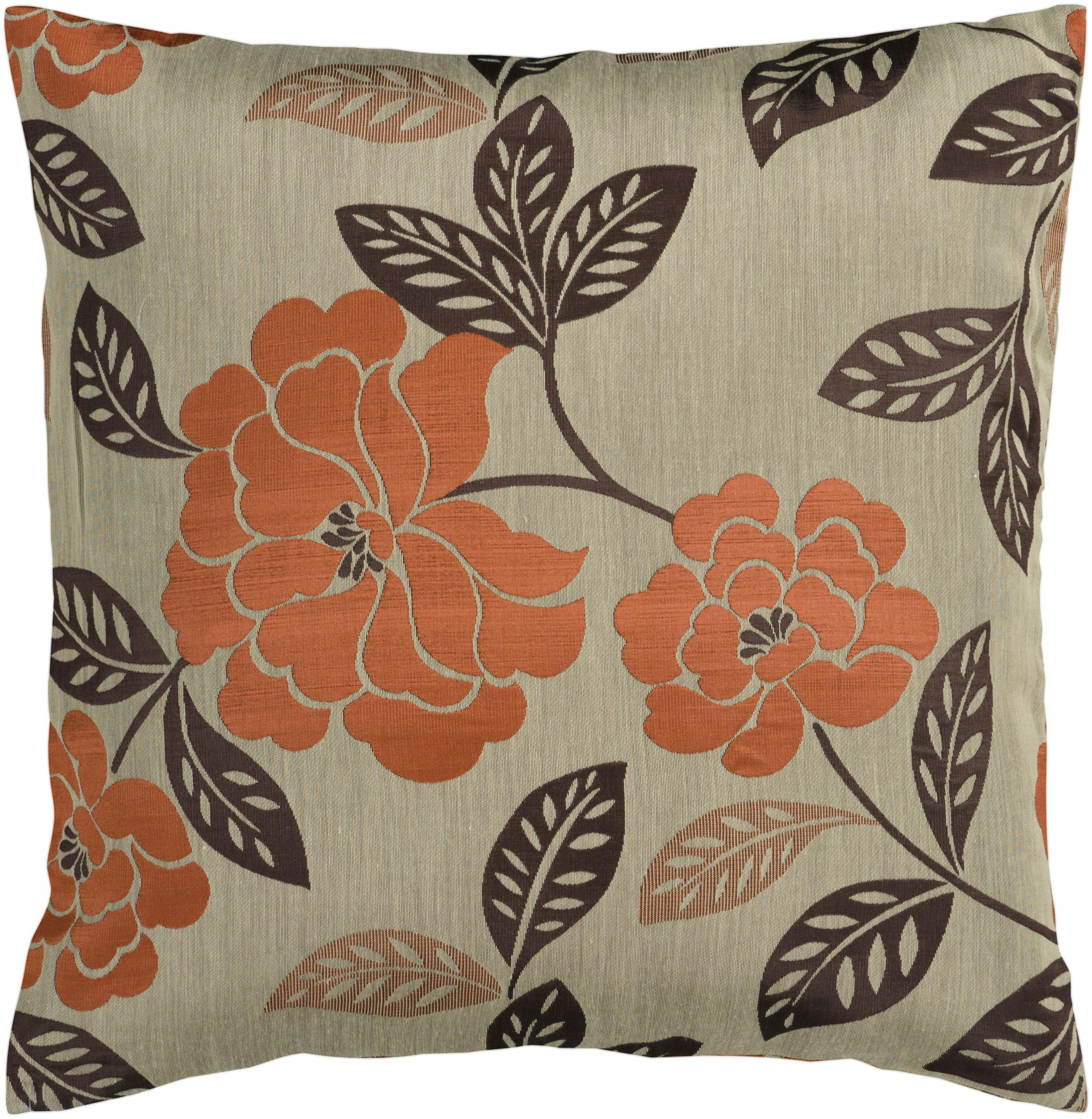 "Surya Pillows 18"" x 18"" Pillow - Item Number: HH053-1818P"