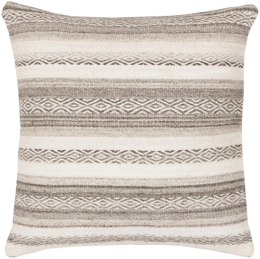 """Surya Pillows 22"""" x 22"""" Decorative Pillow - Item Number: IB002-2222P"""