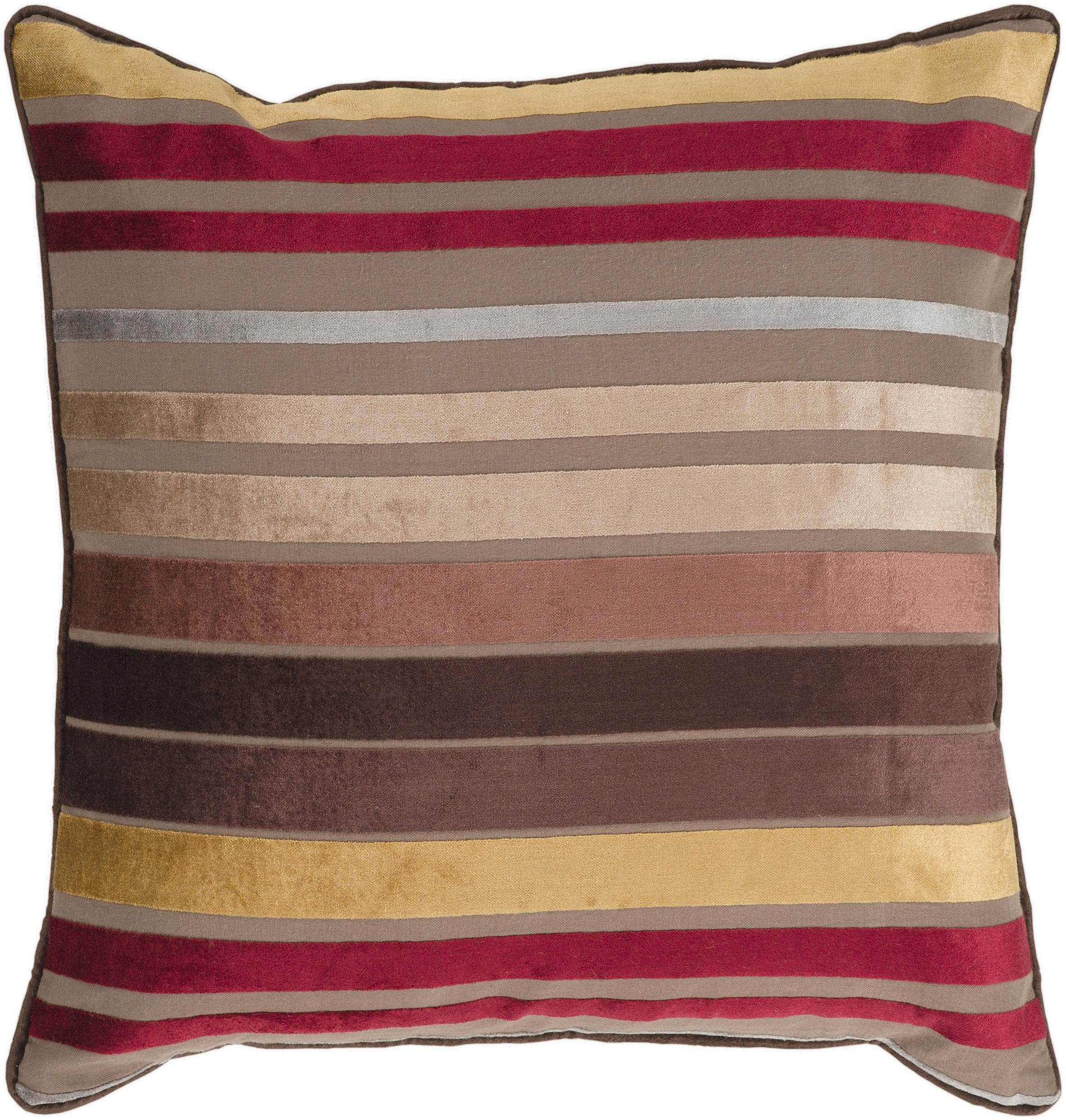 """Surya Rugs Pillows 18"""" x 18"""" Pillow - Item Number: JS023-1818P"""