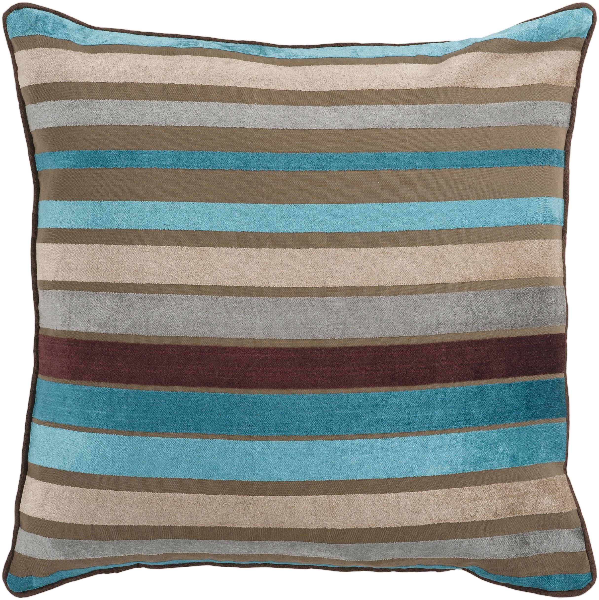 """Surya Pillows 22"""" x 22"""" Pillow - Item Number: JS024-2222P"""