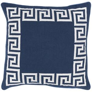 "Surya Rugs Pillows 22"" x 22"" Key Pillow"