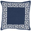 "Surya Rugs Pillows 22"" x 22"" Key Pillow - Item Number: KLD002-2222P"