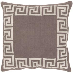 "Surya Rugs Pillows 20"" x 20"" Key Pillow"