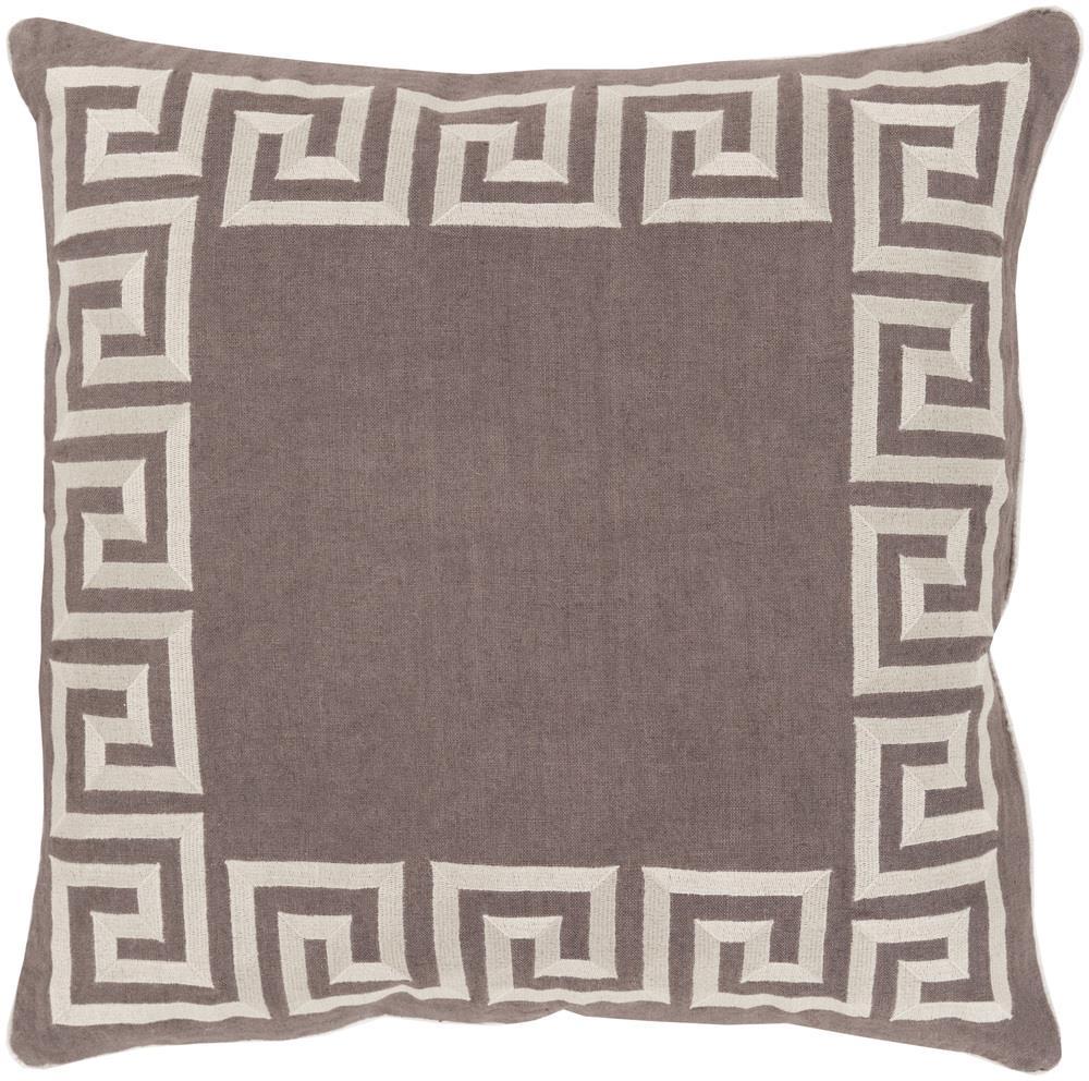 """Surya Pillows 22"""" x 22"""" Key Pillow - Item Number: KLD003-2222P"""