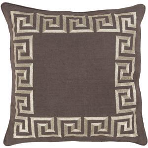 "Surya Rugs Pillows 20"" x 20"" Key Pillow"