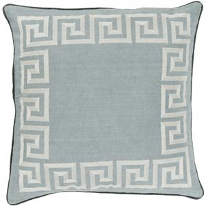 "Surya Rugs Pillows 18"" x 18"" Key Pillow"