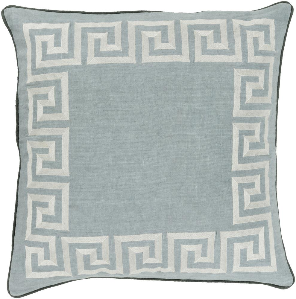 "Surya Pillows 22"" x 22"" Key Pillow - Item Number: KLD005-2222P"