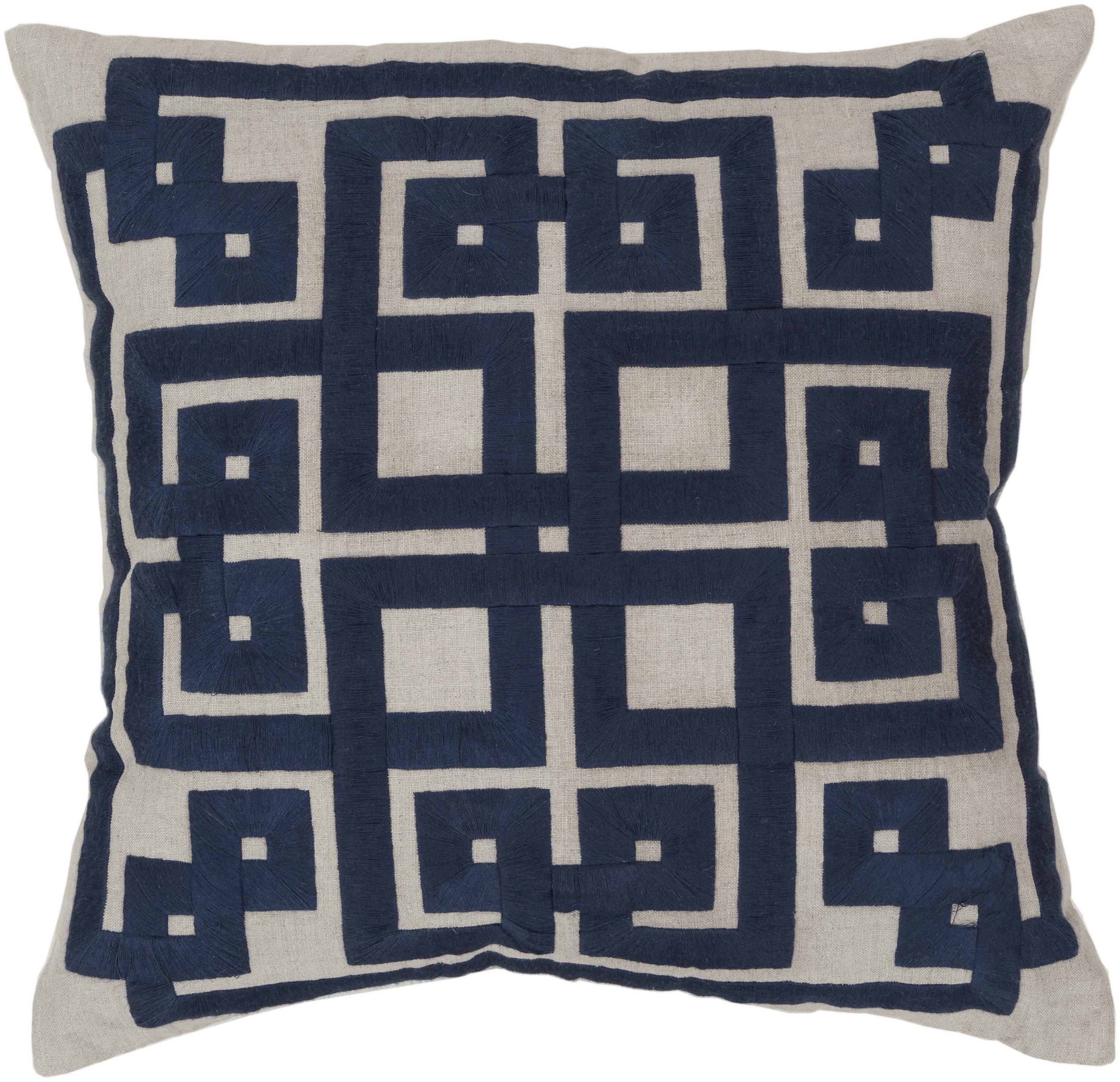"""Surya Rugs Pillows 22"""" x 22"""" Pillow - Item Number: LD002-2222P"""