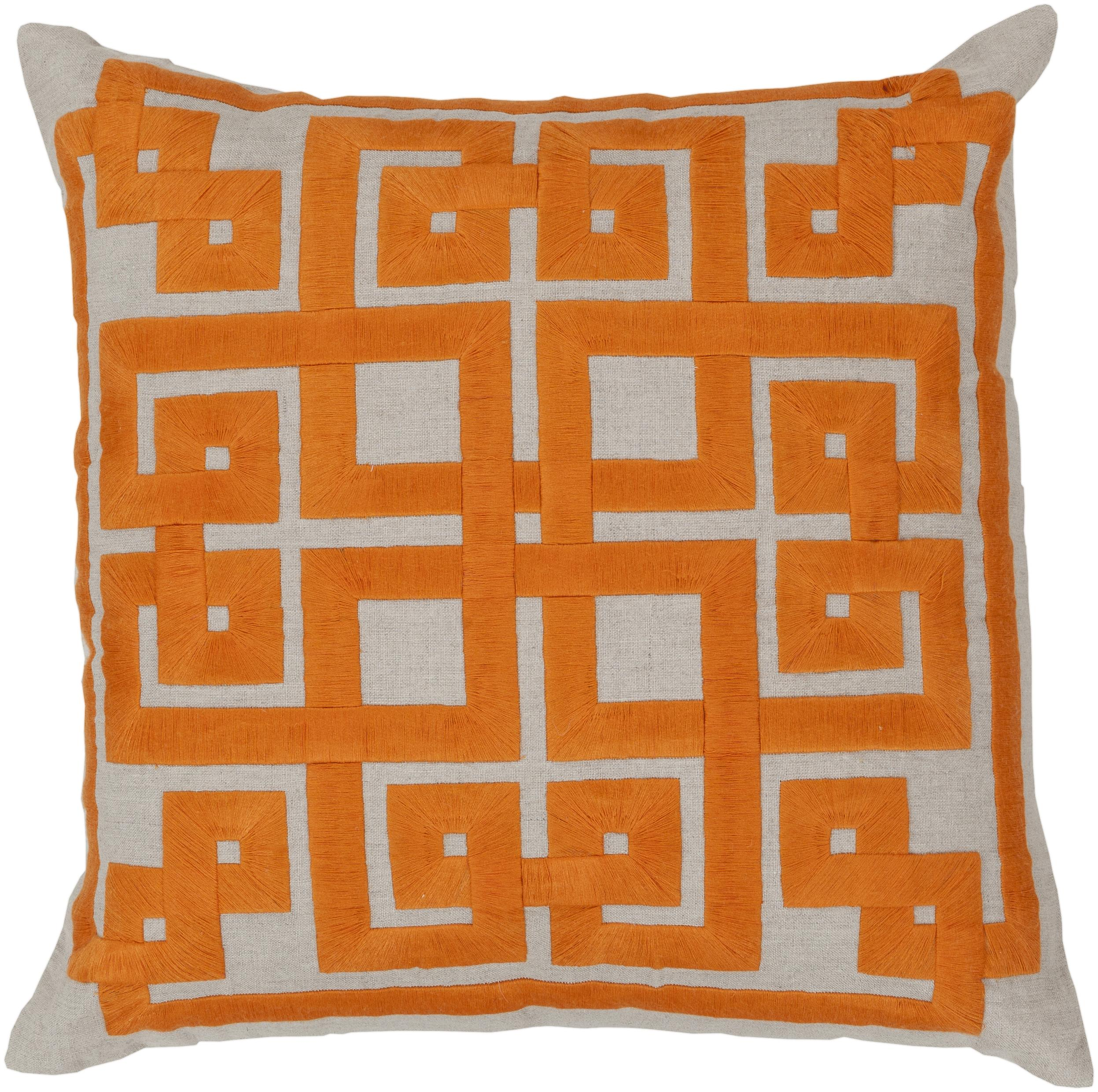 "Surya Pillows 22"" x 22"" Pillow - Item Number: LD003-2222P"