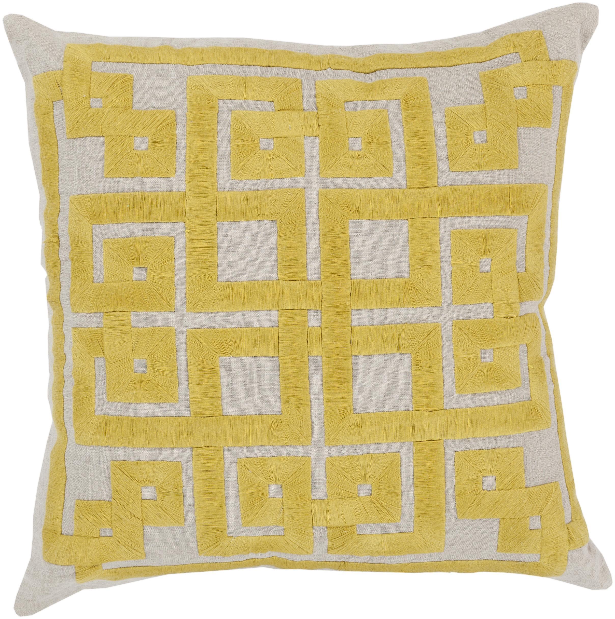 """Surya Rugs Pillows 22"""" x 22"""" Pillow - Item Number: LD005-2222P"""