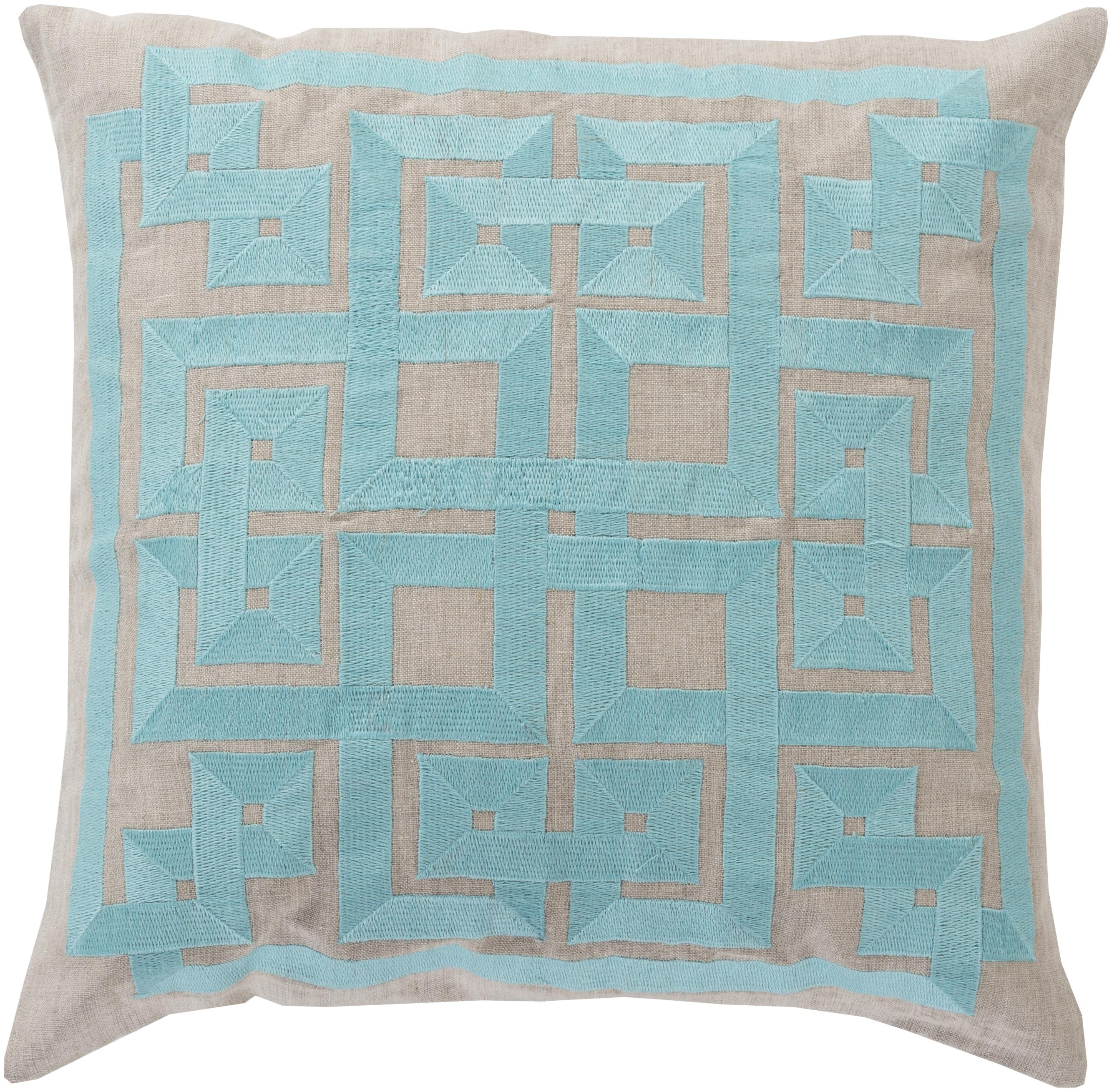 "Surya Pillows 18"" x 18"" Pillow - Item Number: LD009-1818P"
