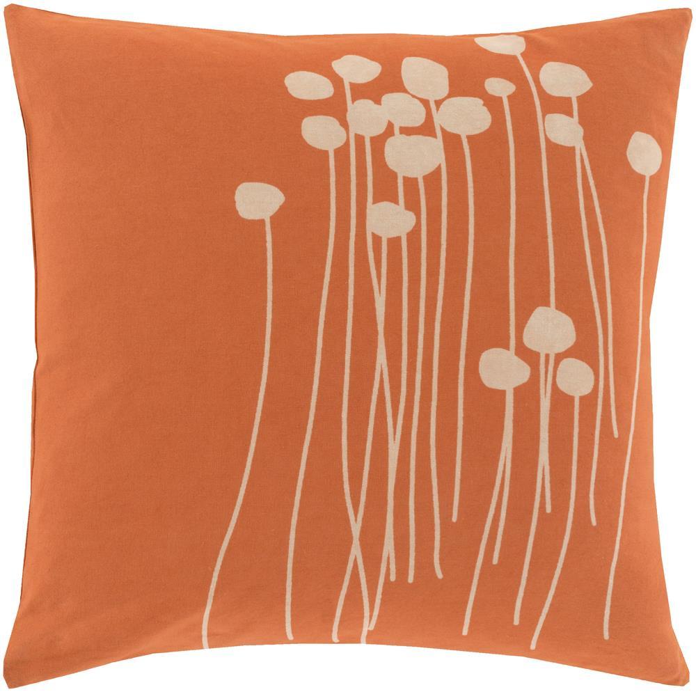 """Surya Pillows 18"""" x 18"""" Abo Pillow - Item Number: LJA001-1818P"""