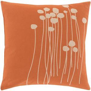 "Surya Pillows 22"" x 22"" Abo Pillow"