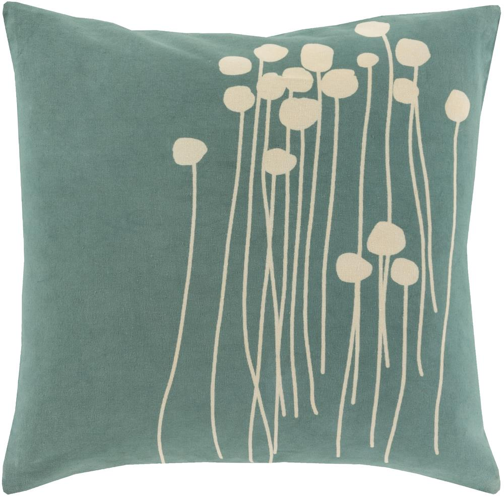 "Surya Pillows 22"" x 22"" Abo Pillow - Item Number: LJA002-2222P"