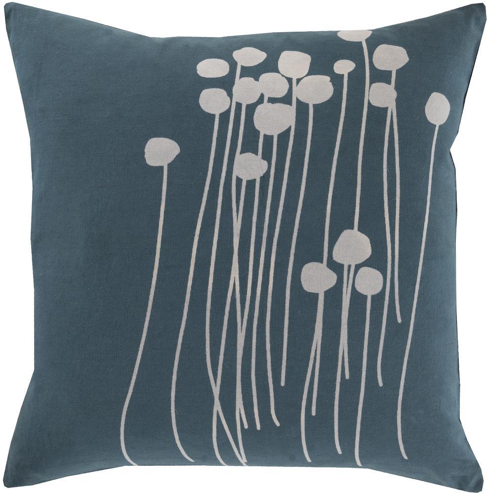 """Surya Pillows 20"""" x 20"""" Abo Pillow - Item Number: LJA003-2020P"""