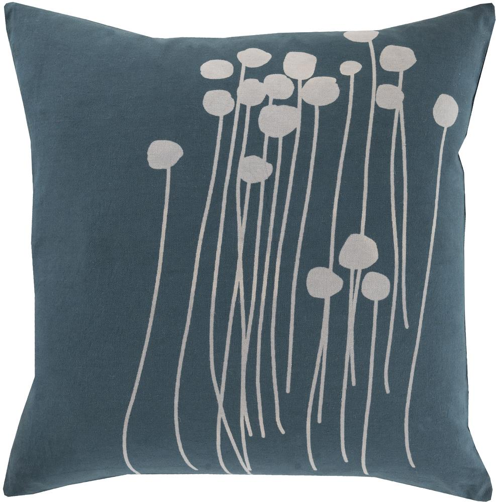 "Surya Pillows 22"" x 22"" Abo Pillow - Item Number: LJA003-2222P"