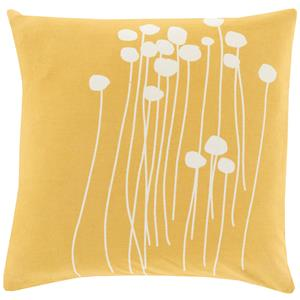 "Surya Pillows 18"" x 18"" Abo Pillow"
