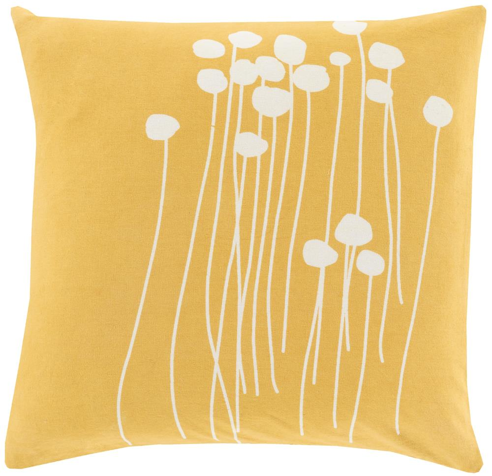 "Surya Pillows 20"" x 20"" Abo Pillow - Item Number: LJA004-2020P"