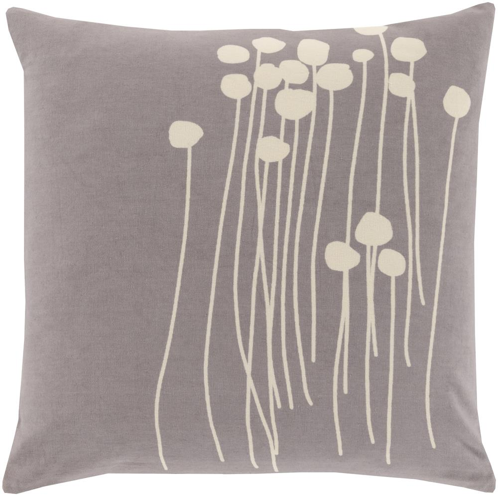 "Surya Pillows 20"" x 20"" Abo Pillow - Item Number: LJA005-2020P"